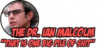 Award: The Dr. Ian Malcolm