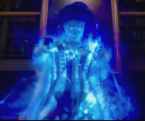 The black-light aura of the ghosts was rad.